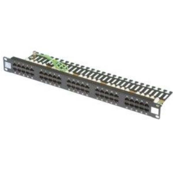P.Panel CAT 3 25 Port RJ-45 1U ( HCS-P03-02503-1U )